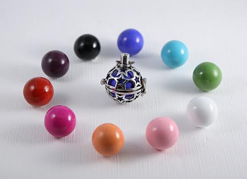 bolas de grossesse et couleur de bille